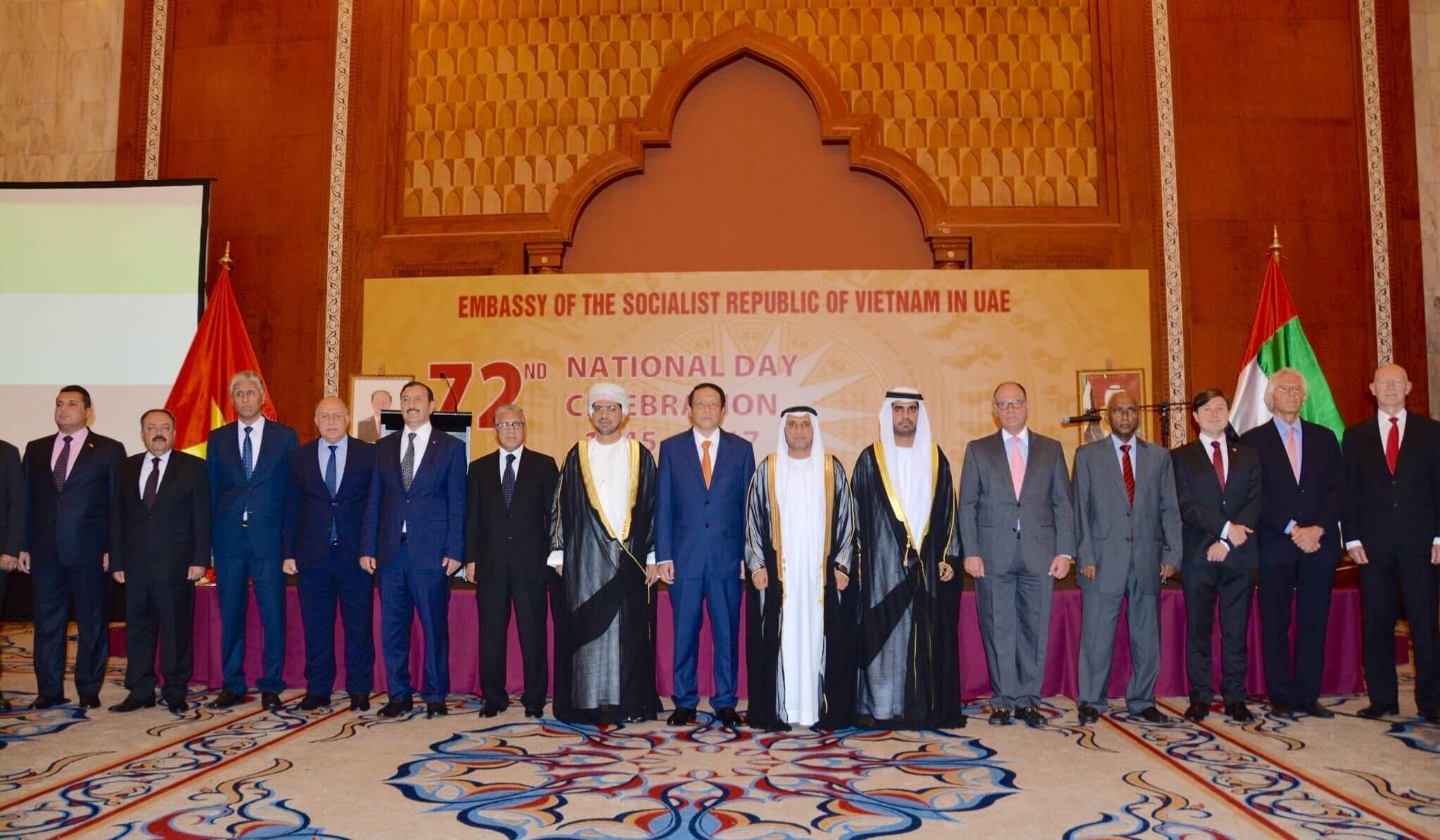 Đại sứ quán Việt Nam tại UAE tổ chức Quốc khánh thành công tốt đẹp