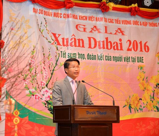 Đại sứ quán Việt Nam tại UAE tổ chức tiệc đón xuân Ất Mùi