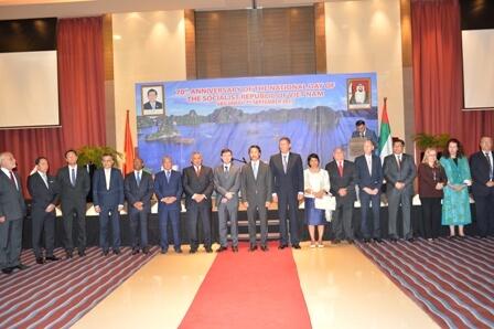 Đại sứ quán tổ chức Lễ kỷ niệm Quốc khánh