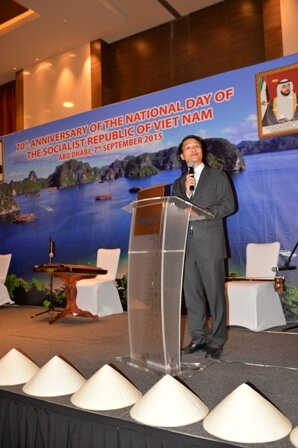 Celebration of National Day of the Socialist Republic of Vietnam in Abu Dhabi