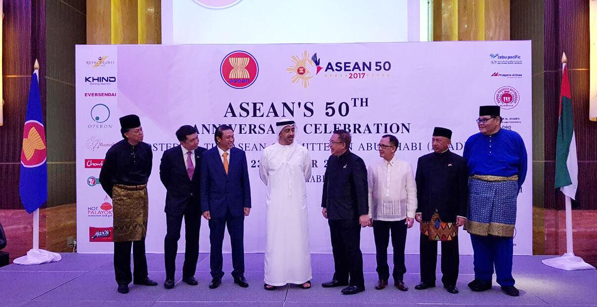 Lễ kỷ niệm 50 năm ngày thành lập Hiệp hội các quốc gia Đông Nam Á tại Abu Dhabi