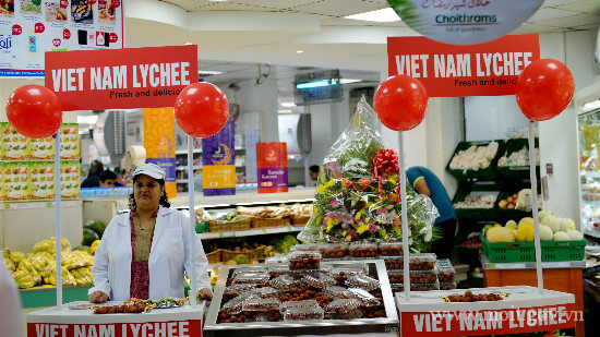 Vietnam launches lychee customers Dubai, UAE