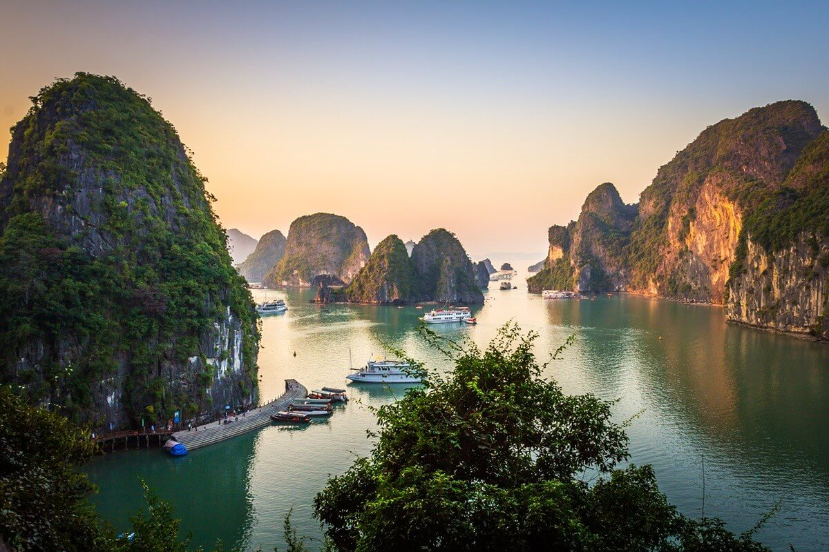 ha long bay - best places to visit Vietnam in June