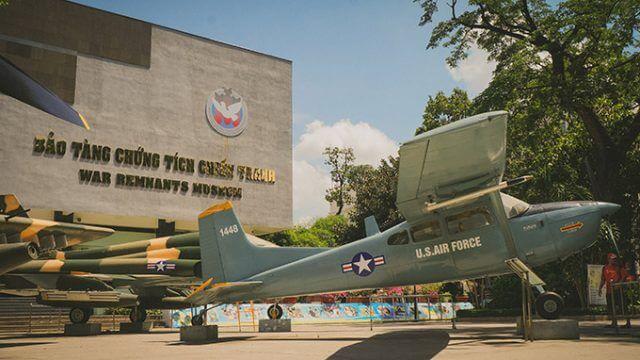 Chi tiết bài thu hoạch bảo tàng chứng tích chiến tranh