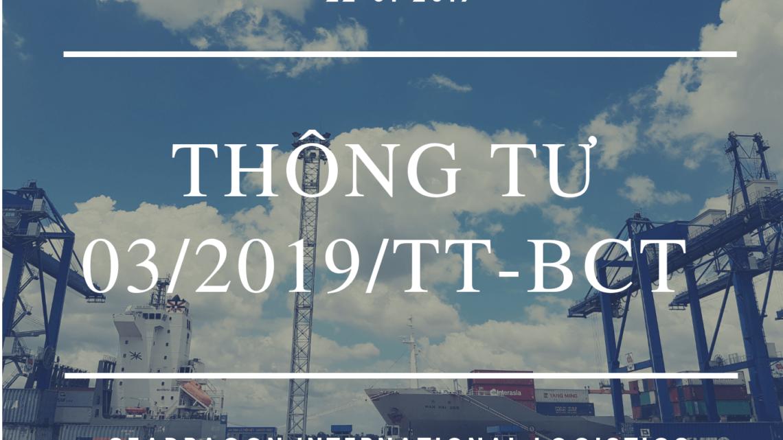 Bộ y tế ban hành thông tư số 03/2019/TT-BYT