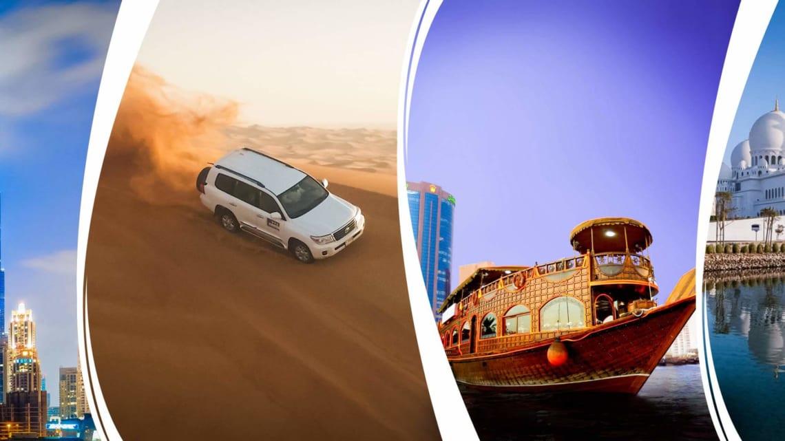 Điểm qua 10 địa điểm du lịch Dubai làm say lòng du khách
