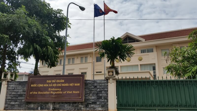 What is the Address of Vietnam Embassy in Argentina?