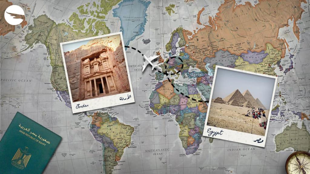 xin visa Jordan