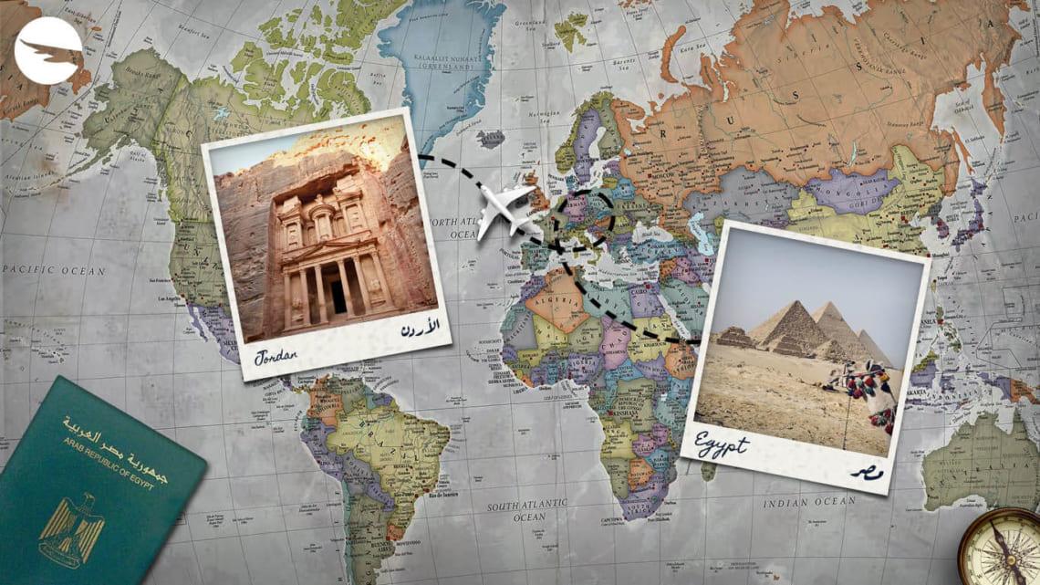 """Một số """"kinh nghiệm vàng"""" khi xin visa Jordan – Ai Cập – Israel – Palestine"""