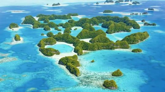 Đẹp mê đắm với sắc xanh của đảo quốc Palau