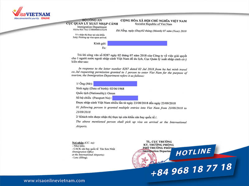 How to get Vietnam visa on Arrival in Gibraltar?