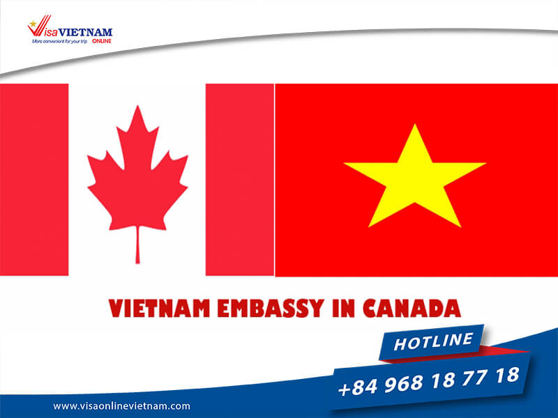 Where is Vietnam Embassy in Canada for foreigners to find?