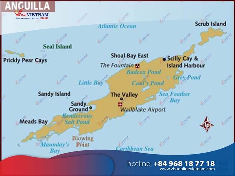 How many ways to get Vietnam visa in Anguilla?