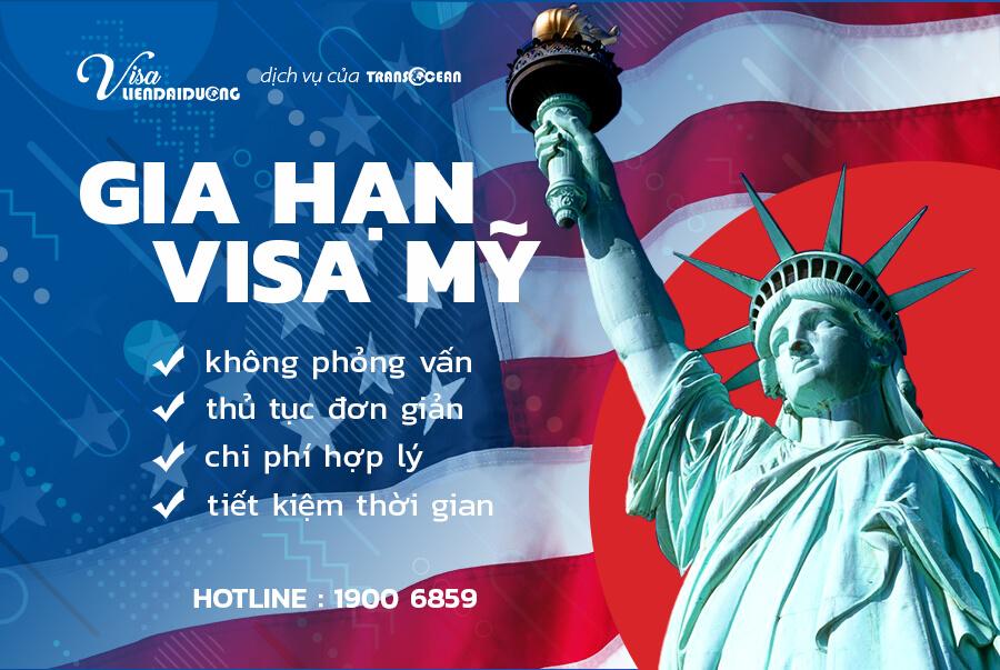 Dịch vụ gia hạn visa Mỹuy tín