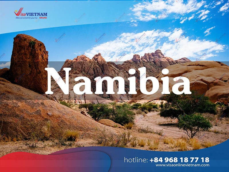 How many ways to get Vietnam visa in Namibia?